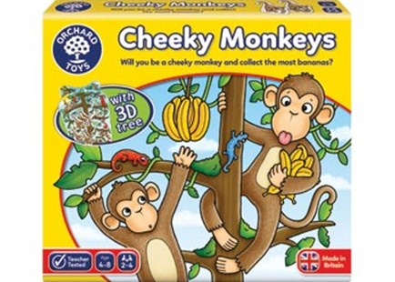 Orchard Game - Cheeky Monkey by  (5011863102270) - Game - Children's Toys & Games Games & Puzzles