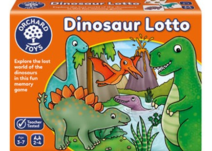 Orchard Game - Dinosaur Lotto by  (5011863102997) - Game - Children's Toys & Games Games & Puzzles