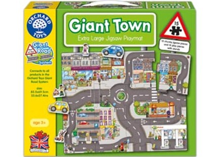 Orchard Jigsaw - Giant Town by  (5011863301697) - Jigsaw - Children's Toys & Games Games & Puzzles