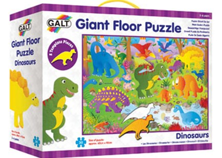 Galt - Dinosaurs Giant Floor Puzzle - 30pcs by  (5011979324177) - Jigsaw - Children's Toys & Games Games & Puzzles