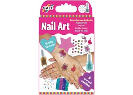Galt - Nail Art - Non-Fiction Art & Activity