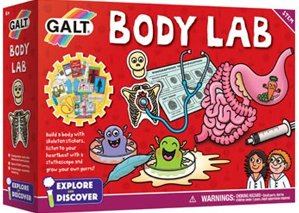Galt - Body Lab - Children's Toys & Games Science & Experiments
