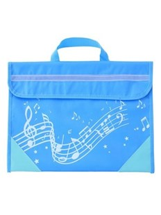 Musicwear - Wavy Stave Music Bag - Light Blue - Entertainment Music General