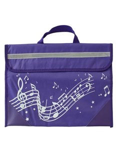 Musicwear - Wavy Stave Music Bag - Purple - Entertainment Music General