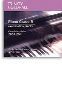 Piano Exam Pieces Gr 5 Cd 2009 - 2011 - Entertainment Music General