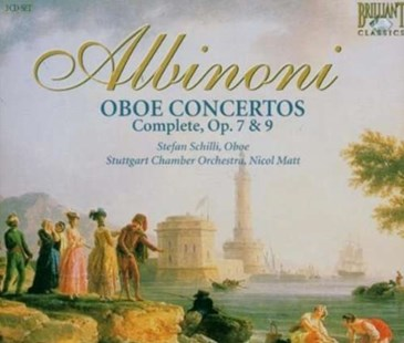 Complete Oboe Concertos (Schilli) - CD / Album - Music Classical Music