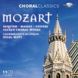 Mozart: Sacred Choral Works - CD / Box Set - Music Classical Music