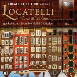 Locatelli: L'arte Del Violino - CD / Box Set - Music Classical Music