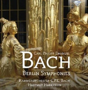 Carl Philipp Emanuel Bach: Berlin Symphonies - CD / Album - Music Classical Music