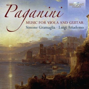 Paganini: Music for Viola and Guitar - CD / Album - Music Classical Music