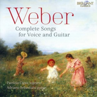 Weber: Complete Songs for Voice and Guitar - CD / Album - Music Classical Music