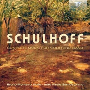 Schulhoff: Complete Music for Violin and Piano - CD / Album - Music Classical Music