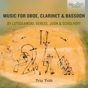 Music for Oboe, Clarinet & Bassoon By Lutoslawski, Veress... - CD / Album - Music Classical Music