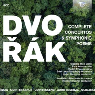 Dvorák: Complete Concertos & Symphonic Poems - CD / Box Set - Music Classical Music