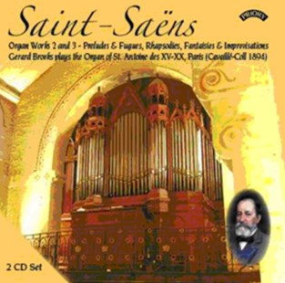Saint-Saens: Organ Works 2 and 3/Preludes & Fugues/... - CD / Album - Music Classical Music
