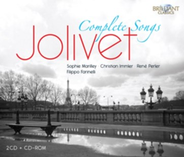 Jolivet: Complete Songs - CD / Album with CD ROM - Music Classical Music