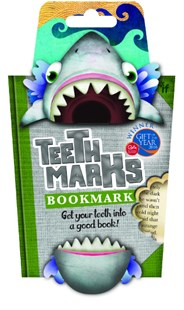Teeth Marks-Shark - Lifestyle Bookmarks