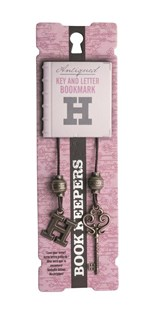 Book Keepers Bookmarks - Letter H - Bookish Gifts Bookmarks