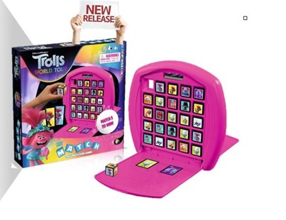 Trolls World Tour Match - Children's Toys & Games Games & Puzzles
