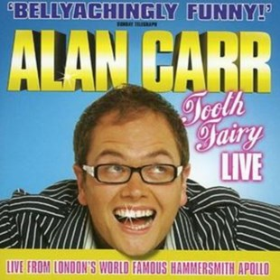 Alan Carr - Tooth Fairy - Live - CD / Album - Music Comedy & Spoken Word