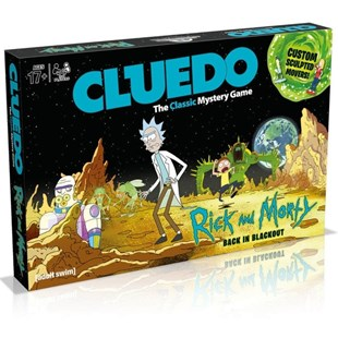 Rick And Morty Cluedo Board Game - Board Games Party & Family