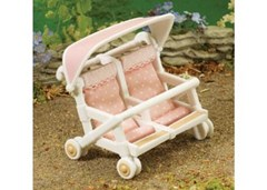 Sylvanian Families - Double Pushchair