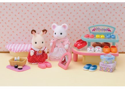Sylvanian Families - Village Shoe Shop - Children's Toys & Games Figures & Dolls