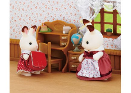 Sylvanian Families - Chocolate Rabbit Sister Set - Children's Toys & Games Figures & Dolls