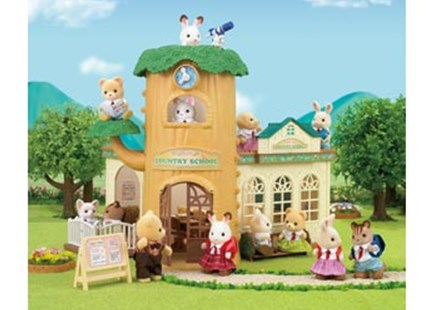 Sylvanian Families - Country Tree School - Children's Toys & Games Figures & Dolls