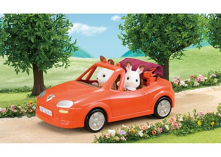 Sylvanian Families - Convertible Car - Children's Toys & Games Figures & Dolls