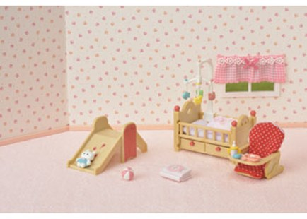 Sylvanian Families - Baby Nursery Set - Children's Toys & Games Figures & Dolls