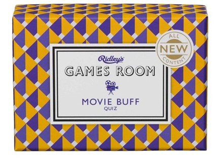 Ridley's Movie Buff Quiz - Card Games Puzzle & Trivia