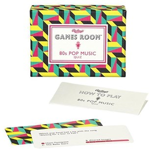 Ridley's 80s Pop Music Quiz - Card Games Puzzle & Trivia