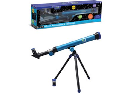 Discovery Kids - 40mm Astronomical Telescope - Children's Toys & Games Science & Experiments