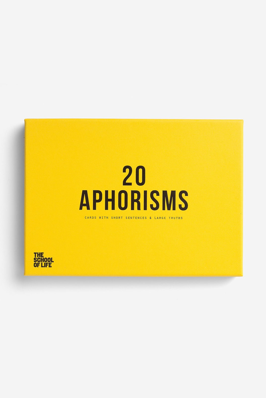 The School Of Life - 20 Aphorisms Cards