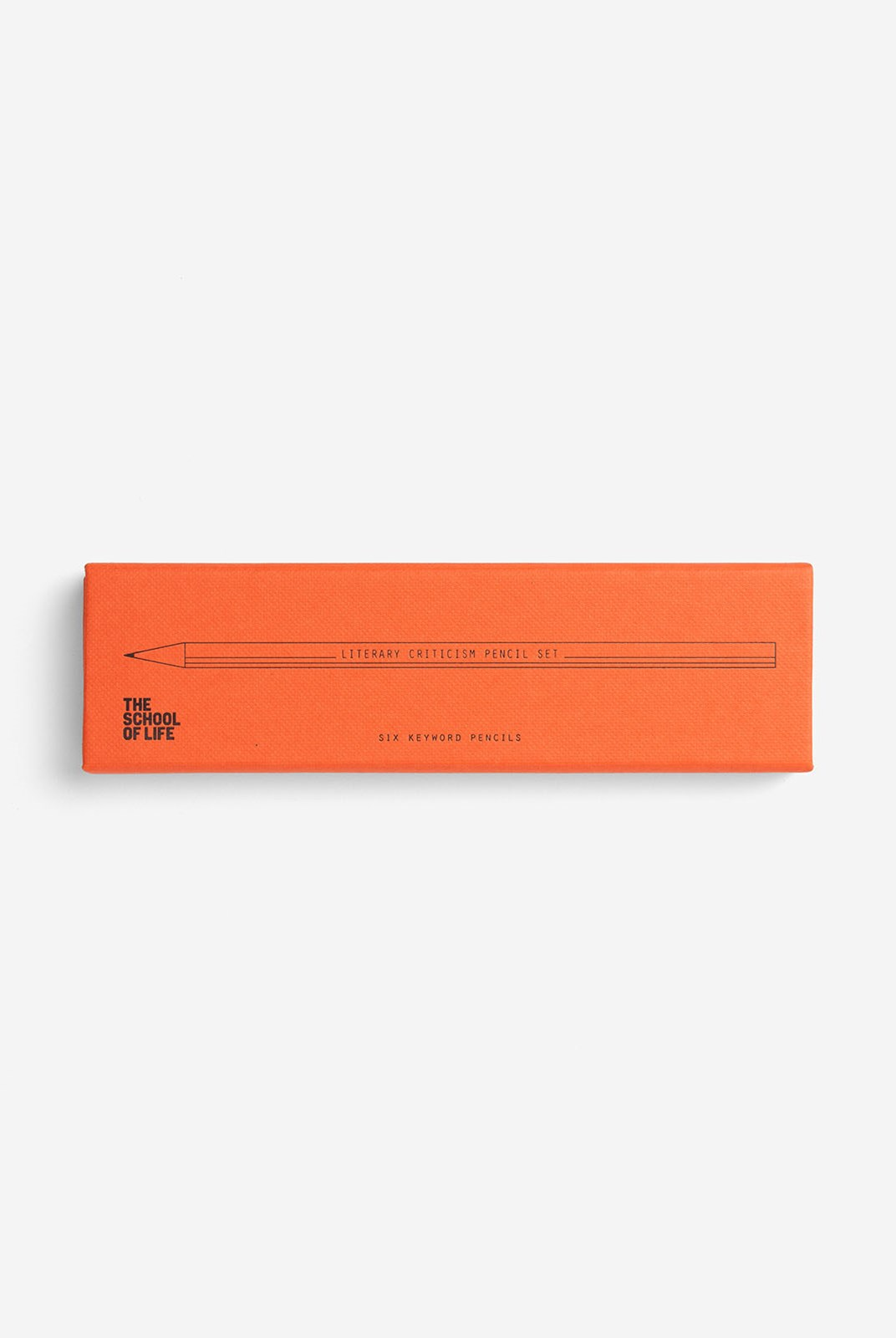 The School Of Life - Literary Pencil Set