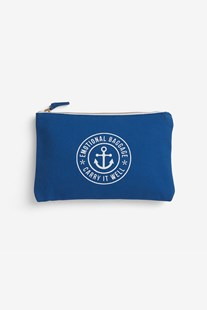 The School Of Life - Emotional Baggage - Pouch - Blue