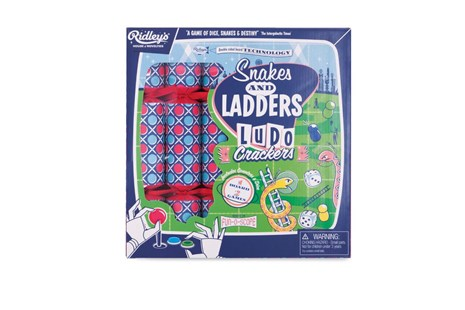 Ridleys Snakes & Ladders Xmas Crackers - Partyware