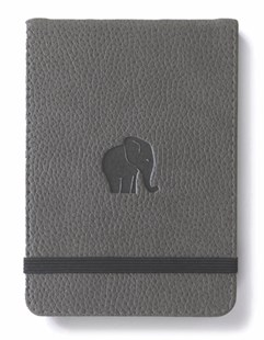 Dingbats* Wildlife Grey Elephant Reporter Notebook A6+ Lined - Notebooks & Journals Notebook - Ruled