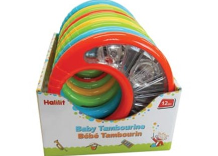 Halilit - Baby Tambourine - Children's Toys & Games Infant Toys