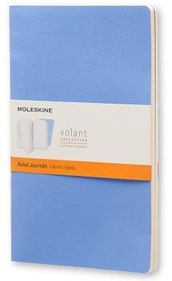 Moleskine - Volant Notebook - Set of 2 - Ruled - Large - Blue