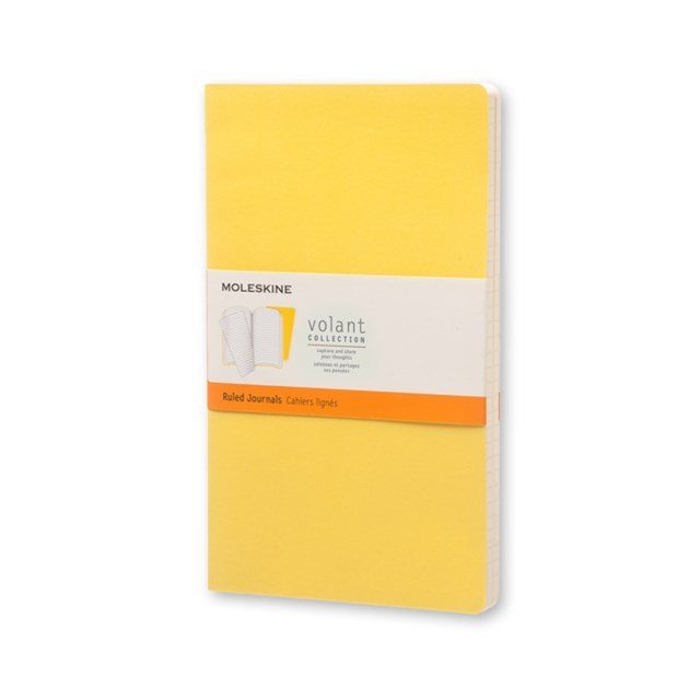 Moleskine - Volant Notebook - Set of 2 - Ruled - Large - Sunflower