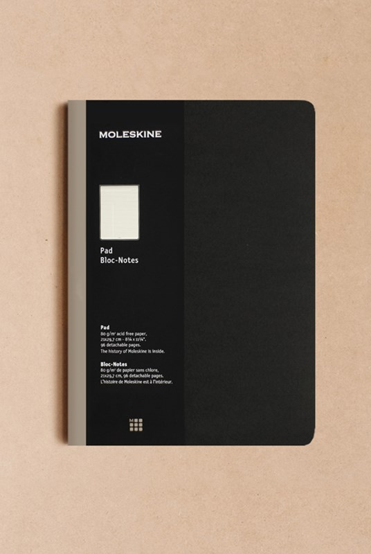 Moleskine - Professional Meeting Notepad - Ruled - A4 - Black