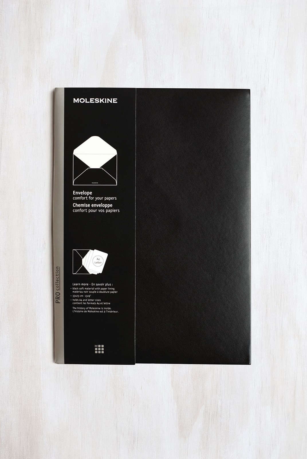 Moleskine - Document Envelope - A4 - Black