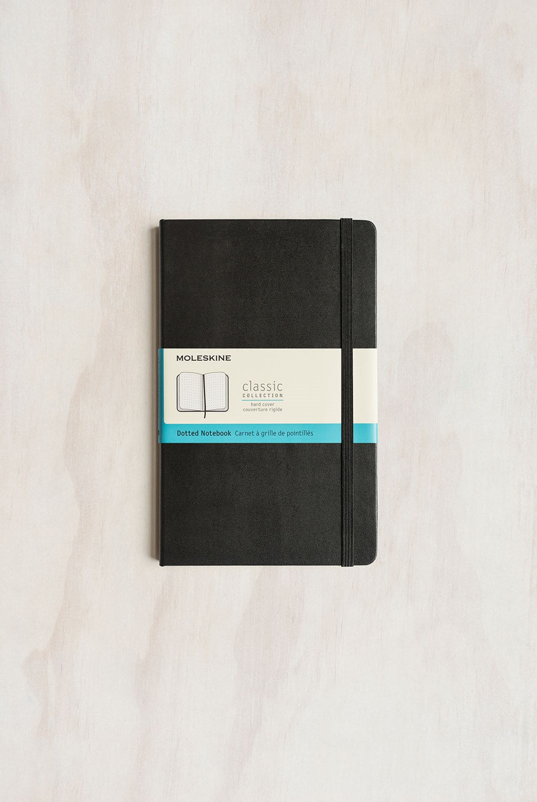 Moleskine - Classic Hard Cover Notebook - Dot Grid - Large - Black