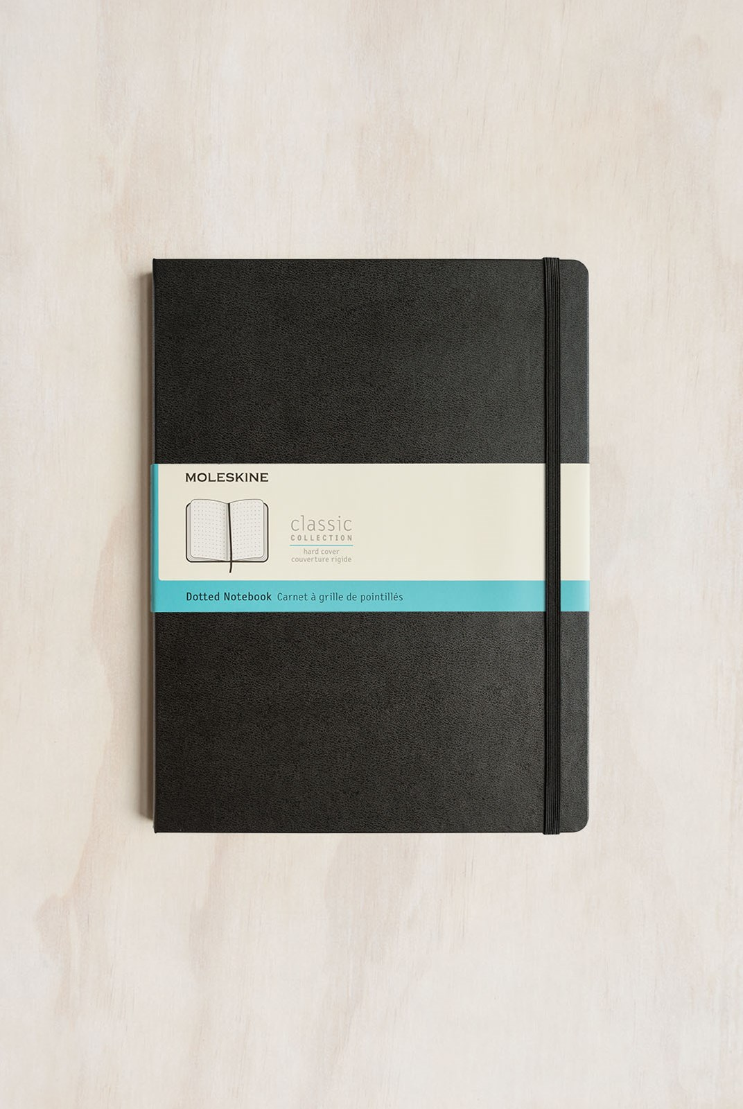 Moleskine - Classic Hard Cover Notebook - Dot Grid - Extra Large - Black