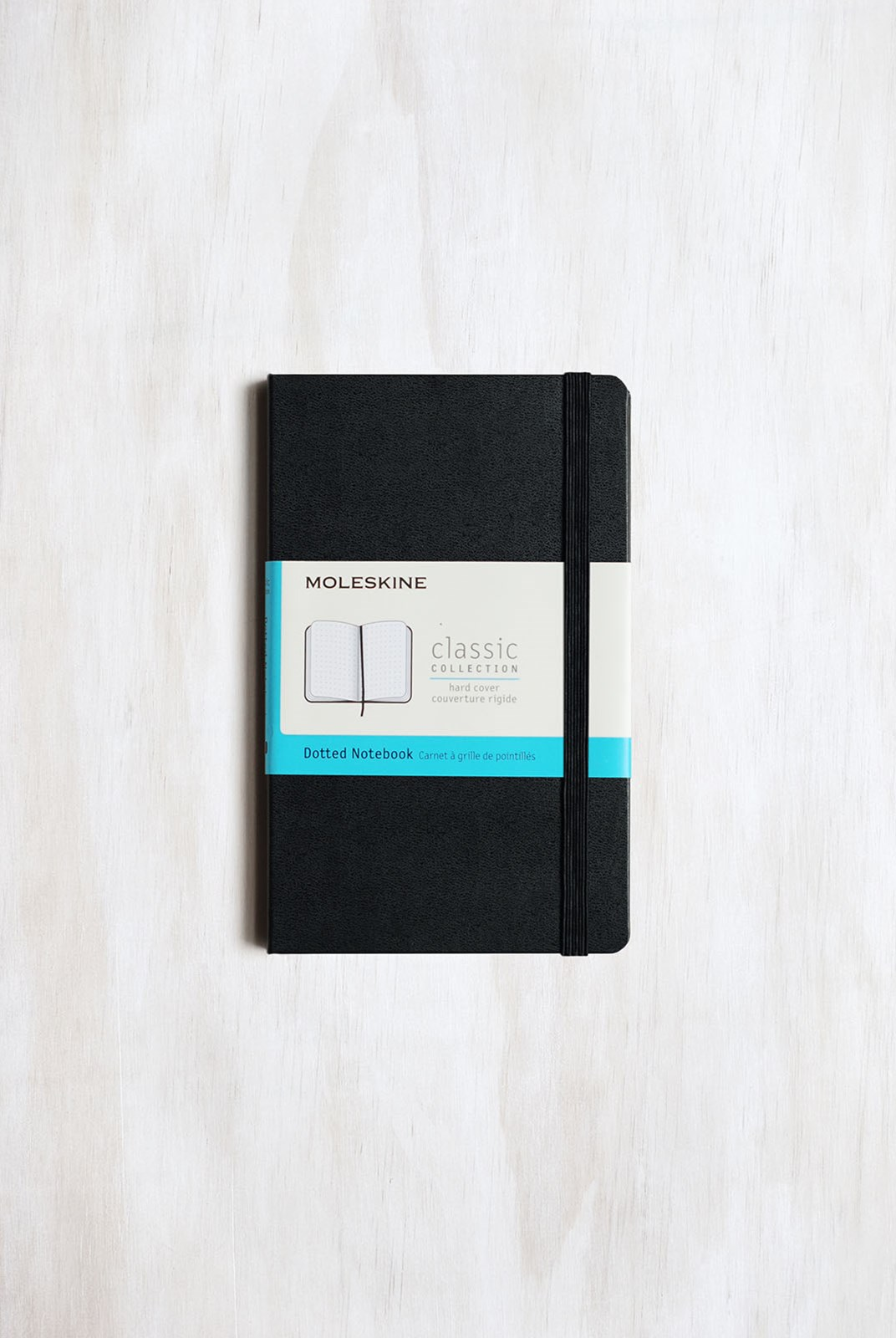 Moleskine - Classic Soft Cover Notebook - Dot Grid - Pocket - Black