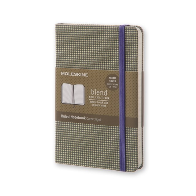 Moleskine - Blend Notebook - Ruled - Pocket - Green