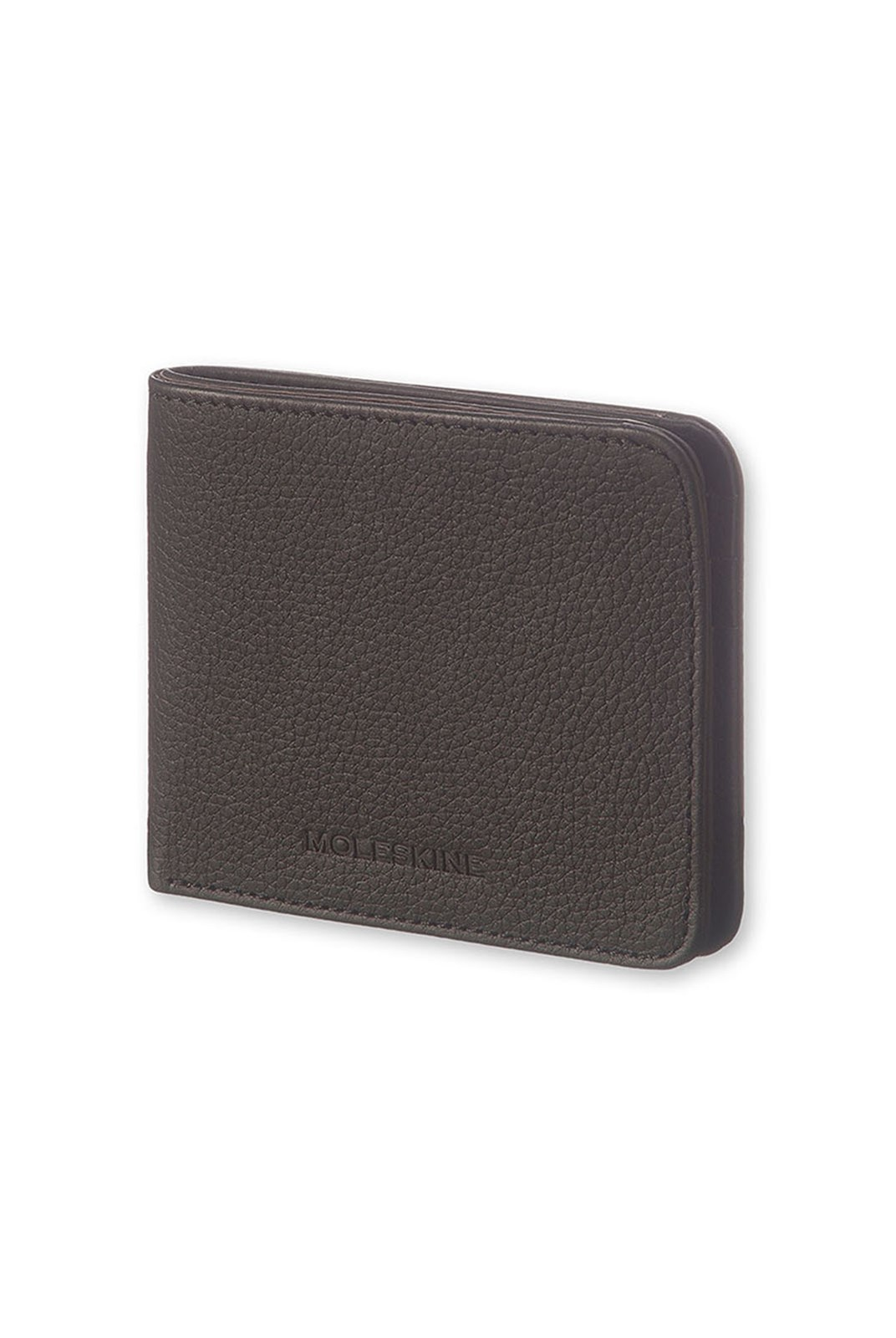 Moleskine - Lineage Leather Horizontal Wallet - Black