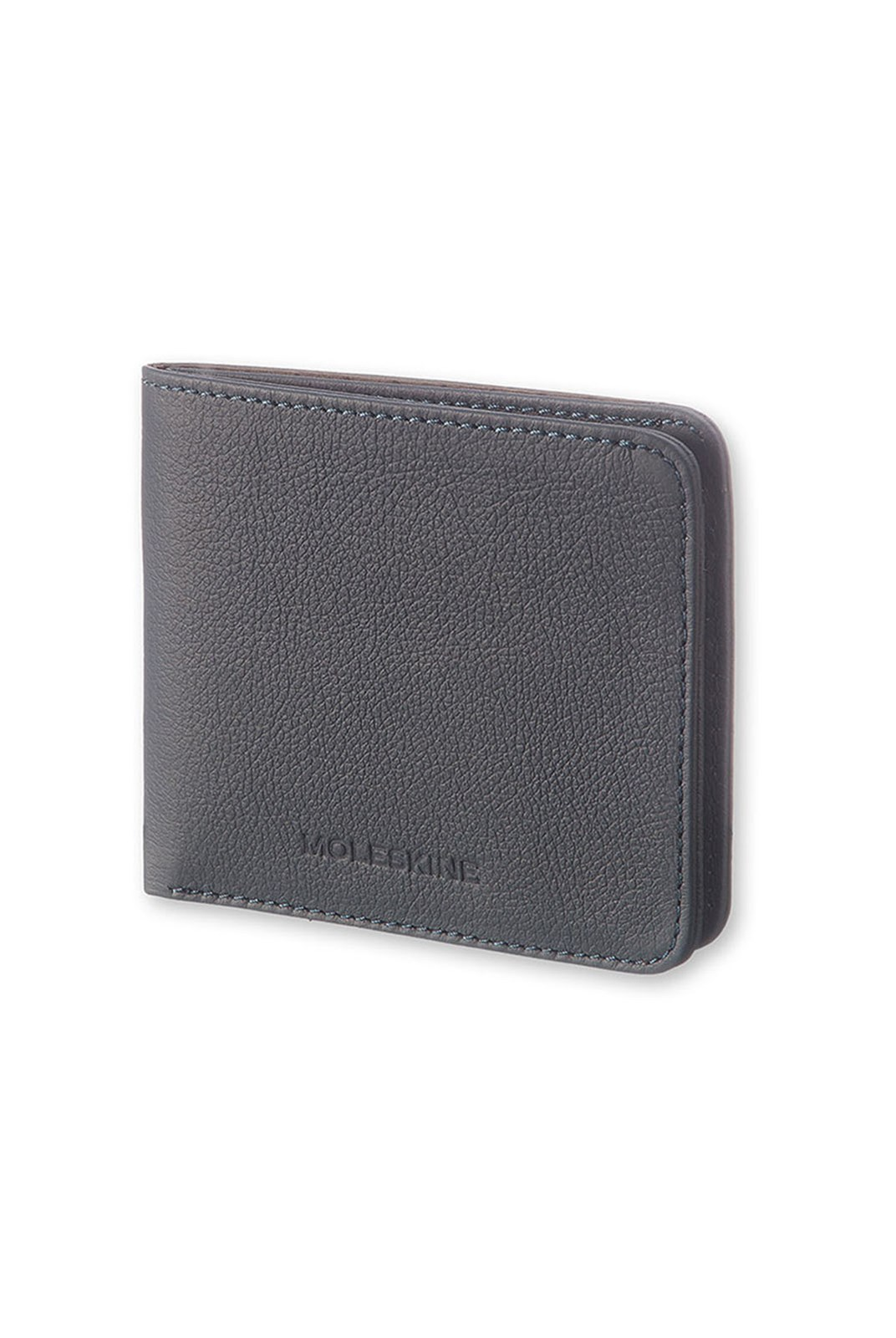 Moleskine - Lineage Leather Horizontal Wallet - Blue Avio